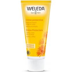 Weleda Crème protectrice au Calendula - 75 ml crème apaisante peaux sensibles les copines bio