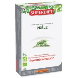 Super Diet Prêle bio 20 ampoules de15 ml silicium organique biodisponible Les copines bio