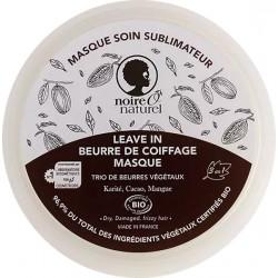Noire O Naturel Masque soin sublimateur Cacao Mangue Karité cheveux frisés à crépus 200 ml Les copines bio