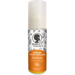 Noire o Naturel Synergie d'huiles capillaires cheveux frisés et crépus 50 ml les copines bio