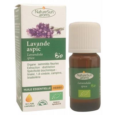 Naturesun aroms huile essentielle lavande aspic 10 ml les copines bio
