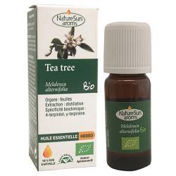 Nature sun Aroms Huile essentielle tea tree 10 ml arbre à thé les copines bio
