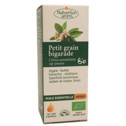 Naturesun aroms huile essentielle petit grain bigarade 10 ml les copines bio