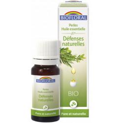 Biofloral Perles d'huiles essentielles complexe Défenses naturelles 20ml  tea tree ravintsara niaouli Les copines bio