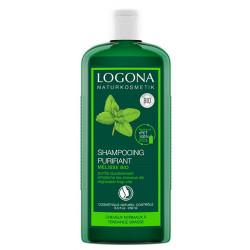 Logona Shampooing à la mélisse cheveux gras 250ml cosmétique bio shampoing bio les copines bio