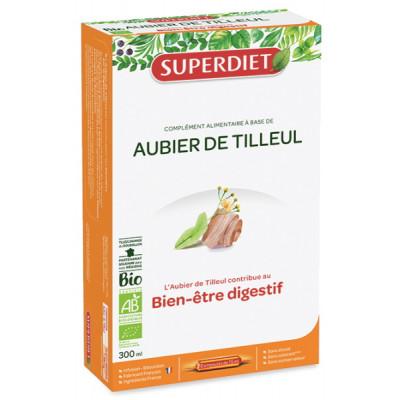 Super Diet Aubier de Tilleul Bio 20 Ampoules les copines bio dépuratif