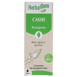 Herbalgem Cassis bio Flacon compte gouttes 50ml Complément alimentaire Les Copines Bio