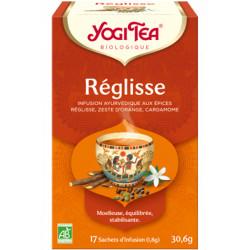 Yogi Tea Infusion Réglisse 17 infusettes produit alimentaire pour préparation d'infusion Les Copines Bio