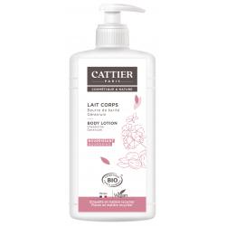 Cattier Lait Corps Beurre de karité et Géranium 500 ml nourrissant et anti irritations Les copines bio