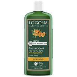 Logona Shampooing réparateur argousier 250ml Cosmétique bio cheveux fatigués Les copines bio