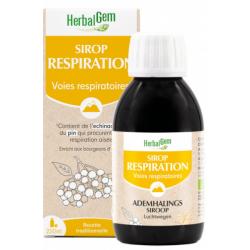 Herbalgem Gemmobase Sirop pour la Respiration bio Flacon 250ml  Complément alimentaire Les Copines Bio