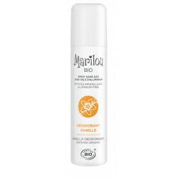 Marilou Déodorant spray Vanille  75ml produit de soin pour le corps Les Copines Bio