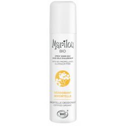 Marilou Bio Déodorant spray Immortelle  75ml produit de soin pour le corps Les Copines Bio