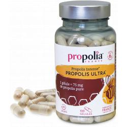 Propolia Propolis Intense Ultra 120 gelules apimab immunité défenses ORL Les copines bio