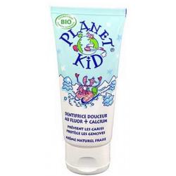 Planet Kid Dentifrice Douceur Fluor et Calcium  50ml produit d'hygiène pour les dents Les Copines Bio