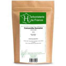 Herboristerie de France Tisane Camomille Romaine capitule floral trié entier 30gr douceur et plénitude Les copines bio