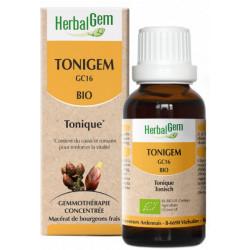 Herbalgem Gemmobase Tonigem Bio Flacon compte gouttes 50ml  Complément alimentaire Les Copines Bio