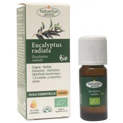 Naturesun' Aroms Huile essentielle eucalytus radiata  10 ml eucalyptus radié Les copines bio