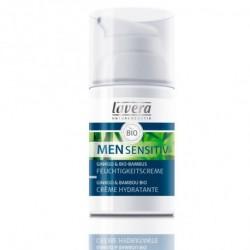 Lavera Crème hydratante Men Sensitiv 30 ml soin homme les copines bio