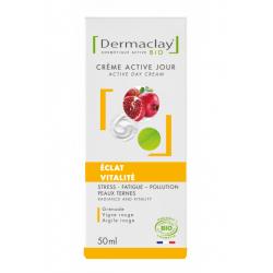 Crème Active Jour Eclat Vitalité-Tube airless 50 ml