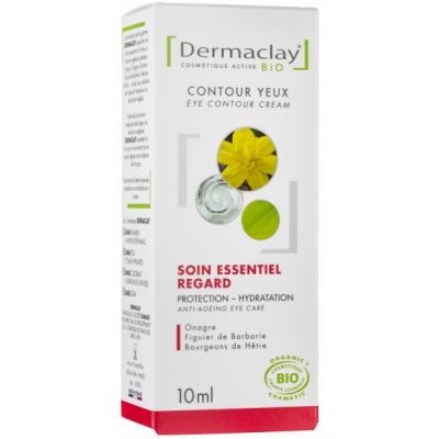 Dermaclay Contour des Yeux 10 ml cosmétique bio les copines bio
