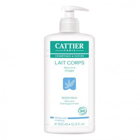 Lait Corps modelant Hydratant Aloe Vera et Onagre 500ml Dont 20% gratuit