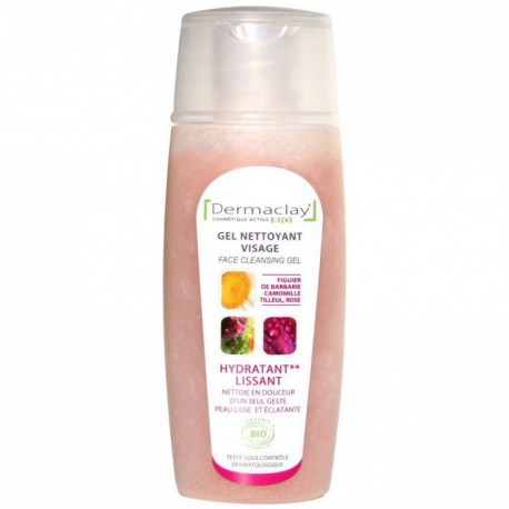 Dermaclay Gel nettoyant Visage 125 ml cosmétique bio