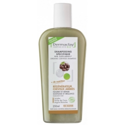 Dermaclay Shampooing Régénérateur Cheveux Abimés 250ml cosmétique bio