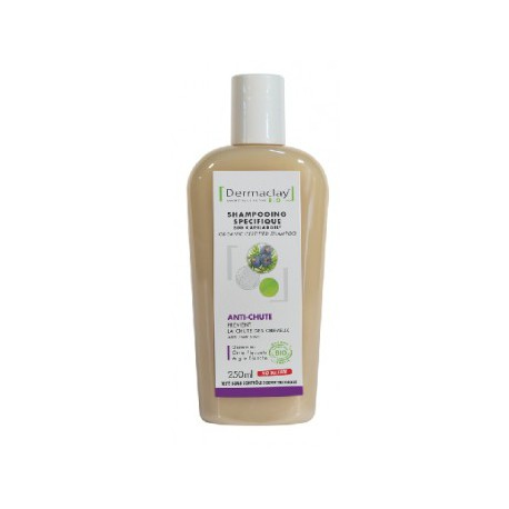 Dermaclay Shampooing Anti-chute capilargil 250 ml les copines bio