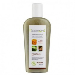 Dermaclay Shampooing Shampooing Anti-pelliculaire 250 ml les copines bio