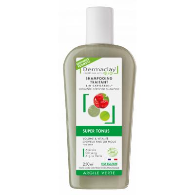 Dermaclay Shampooing Super Tonus 250 ml les copines bio