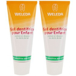 Duo Dentifrice dents de lait Enfants Weleda - dentifrice bio enfants Les copines bio
