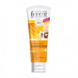 Lavera Crème solaire sensitiv FPS 30 75 ml peaux sensisibles Les copines bio