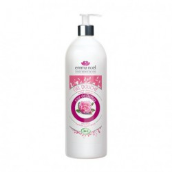 Emma Noël Gel Douche Rose de Damas 1Litre les copines bio
