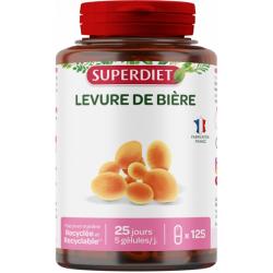 Super Diet Levure de bière 125 gélules les copines bio