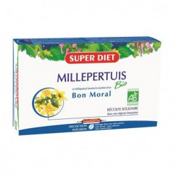 Super Diet Millepertuis 20 ampoules de 15ml dépression les copines bio