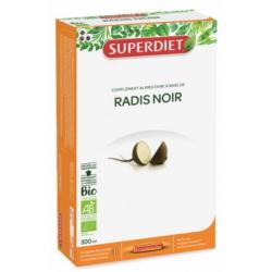 Super Diet Radis noir 20 ampoules de 15 ml les copines bio