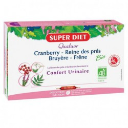 Super Diet confort quatuor cranberry reine des pres bruyere frene 20x15 ml les copines bio