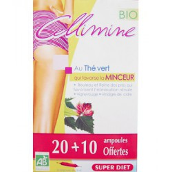 Super Diet Cellimine peau d'orange 20 + 10 ampoules offertes les copines bio