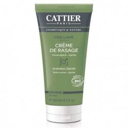 Cattier Crème de rasage Fine lame-150 ml - Tous types de peaux Les Copines Bio