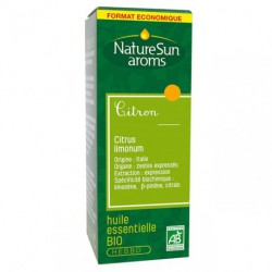 Naturesun aroms Huile essentielle de citron 30 ml aromathérapie les copines bio
