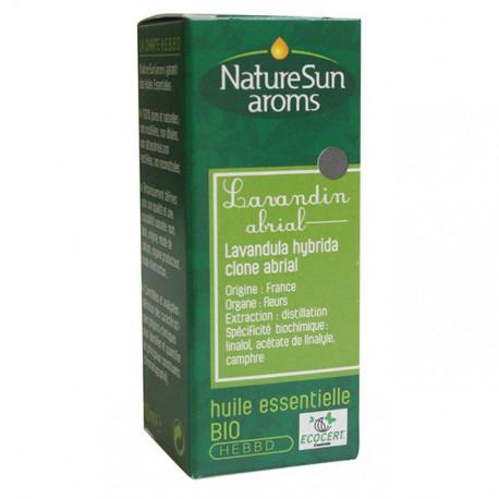 Naturesun aroms Huile essentielle Lavandin Abrial 10 ml les copines bio