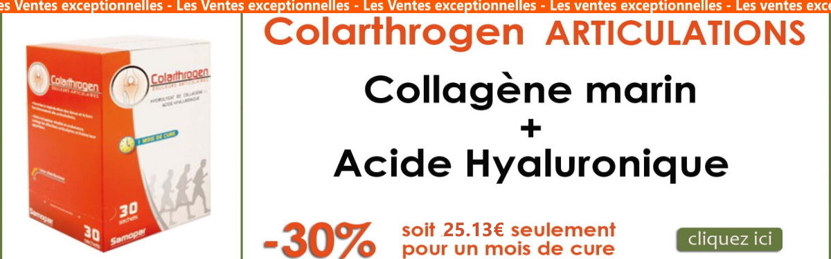 colarthrogen collagène marin