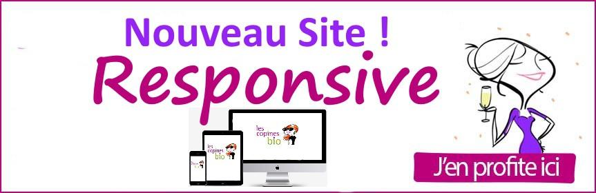 nouveau site responsive !