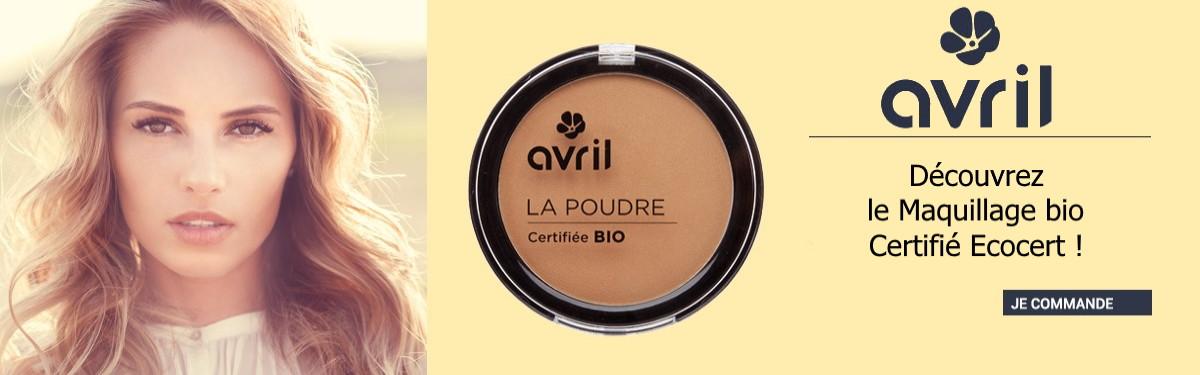 découvrez la gamme avril beauté maquillage bio